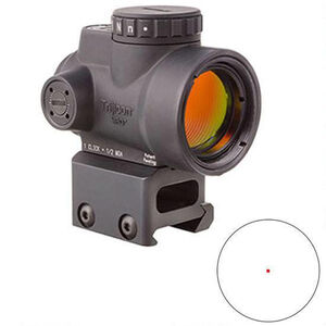 Trijicon MRO 1x25 2.0 MOA Full Co-Witness Mount Black MRO-C-2200005