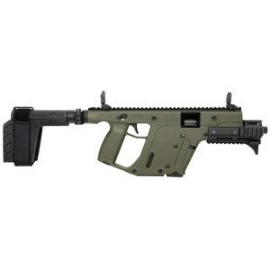 "Kriss USA Kriss Vector Gen II SDP-SB Enhanced 10mm Auto Semi Auto Pistol 6.5"" Barrel 15 Rounds Pistol Stabilizing Brace OD Green Finish"