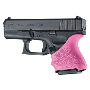 Hogue Handall Beavertail Slip-On Grip Sleeve GLOCK 26/27/33 Pink