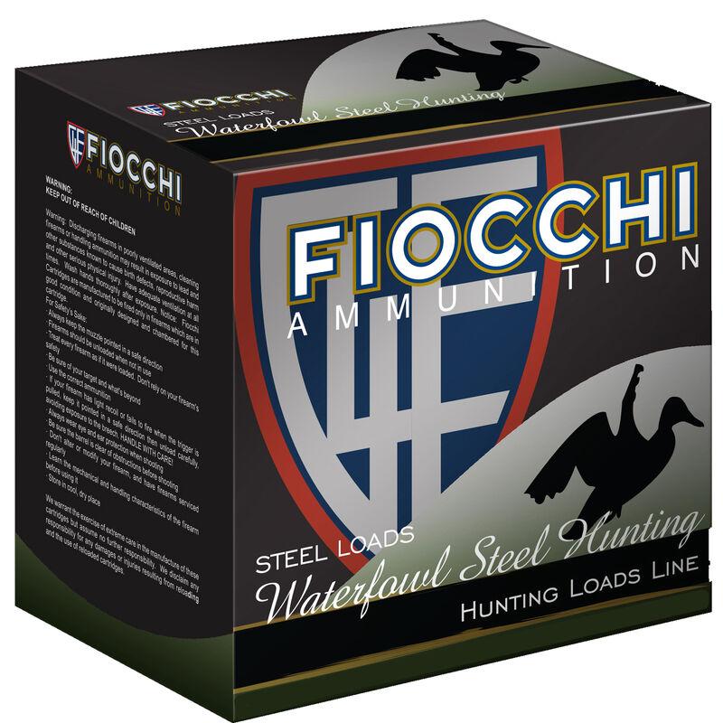 "Fiocchi Shooting Dynamics Waterfowl Steel Hunting 12 Gauge Ammunition 3-1/2"" BB 1-3/8oz Steel Shot 1470 fps"