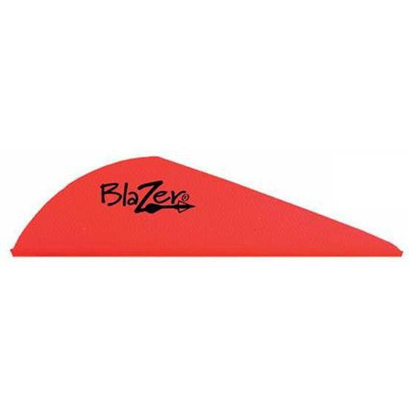 """Bohning Blazer Vanes 2"""" Solid Neon Red 36 Pack 10831NR2"""