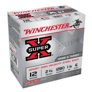 "Winchester Super-X 12 Ga 2.75"" #6 Steel 1.125oz 250 rds"