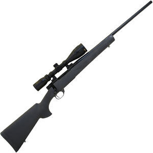 "Howa Gamepro Gen-2 .300 Win Mag Bolt Action Rifle 24"" Threaded Barrel 3 Rounds with 3.5-10x44 Scope Black Hogue Overmolded Stock Blued Finish"