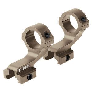 "Nikon P-Series 2 Piece Scope Mount 1"" Tube Diameter Picatinny Rail Mounted AR-15/MSR Height Aluminum Flat Dark Earth"