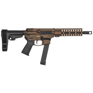 "CMMG Banshee Exclusive MKG 9mm Luger AR-15 Semi Auto Pistol 8"" Barrel 33 Rounds GLOCK Magazine RML7 M-LOK Free Float Hand Guard Midnight Bronze"