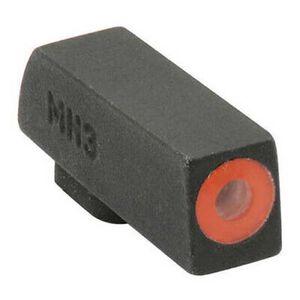 Meprolight Hyper-Bright Tritium Front Day and Night Sight Orange Ring for Glock Standard Frames