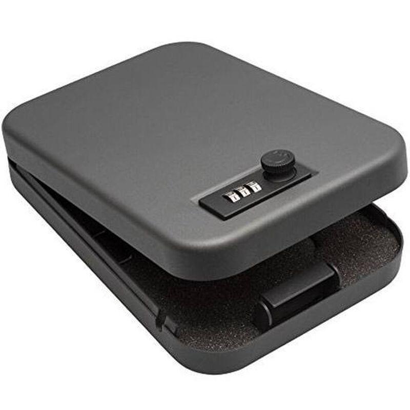 SnapSafe X-Large Lock Box 3 Digit Combination Black Steel 75240