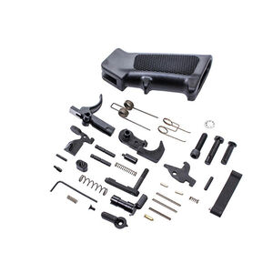 CMMG AR-15 Complete Lower Parts Kit With Ambidextrous Safety Selector Black 55CA6B8