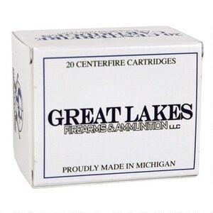 Great Lakes .500 S&W Magnum Ammunition 20 Rounds 500 Grain Hornady XTP Bullet Remanufactured