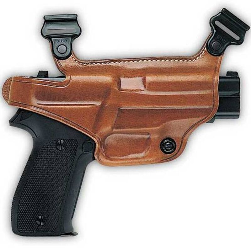 Galco S3H S&W M&P 9/40 Full and Compact, Sigma Shoulder Holster Component Right Hand Leather Tan 472