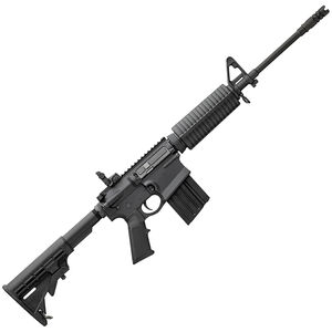 "DPMS GII AP4 AR Style Semi Auto Rifle .308 Winchester 16"" Barrel 19 Round Magazine Polymer Hand Guard M4 Collapsible Stock Matte Black Finish"