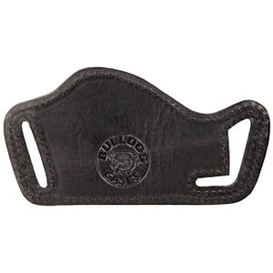 Bulldog Lay Flat Holster Large Auto Belt Slide Leather Right