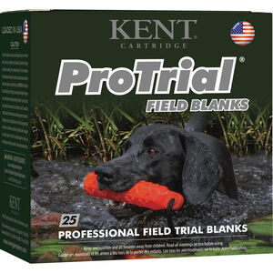 "Kent Cartridge ProTrial 12 Gauge Blank Ammunition 2-1/2"" Shell Field Blanks"