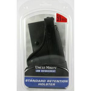 Uncle Mike's Standard Retention Holster Right Hand Size 21 Black 9821-1