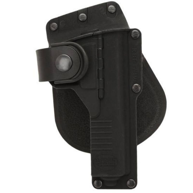 Fobus Tactical Holster Glock 17,22,31/S&W M&P 9mm/.40 Right Hand Paddle Attachment Polymer Black