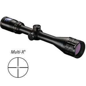 "Bushnell Banner 4-12x40 Riflescope Multi-X Reticle Adjustable Objective 1"" Tube 1/4 MOA Matte Black 614124"