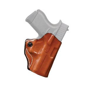 DeSantis Mini Scabbard For FN 509 OWB Belt Holster Leather Tan