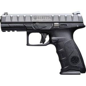 "Beretta APX .40 S&W Semi Auto Pistol 4.25"" Barrel 15 Rounds Polymer Frame Black"