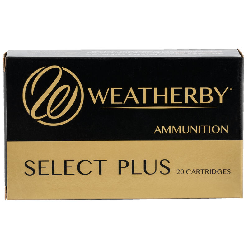 Weatherby Select Plus .300 Weatherby Magnum Ammunition 200 Grain Hornady ELD-X Projectile