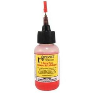 Pro Shot One Step Cleaner Lubricant Protectant 1 oz Bottle 1STEP-1NEEDLE