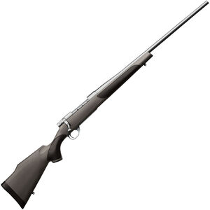 """Weatherby Vanguard Stainless Synthetic Bolt Action Rifle .257 Wby Mag 26"""" Barrel 3 Rounds Synthetic Stock Matte Stainless Finish"""