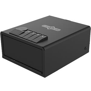 Surelock Security QuickTouch 200 Keypad/Fingerprint Entry Black Powder Coat Steel