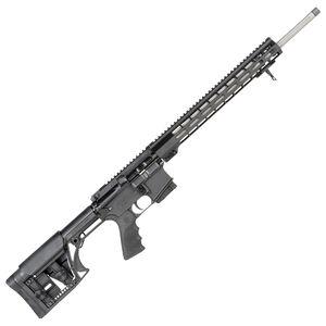 "Windham Weaponry Varmint 5.56 NATO Semi-Auto Rifle 20"" Barrel 5 Rounds Flat Top Optics Ready LUTH MBA-1 Stock Black Finish"