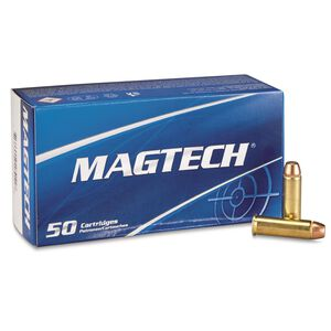 Magtech .38 Special Ammunition 50 Rounds FMJ 125 Grains 38Q