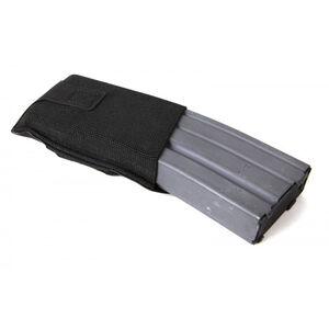 Blue Force Gear High Rise M4/AR-15 Belt Mounted Single Magazine Pouch Ten Speed Military Grade Elastic Matte Black