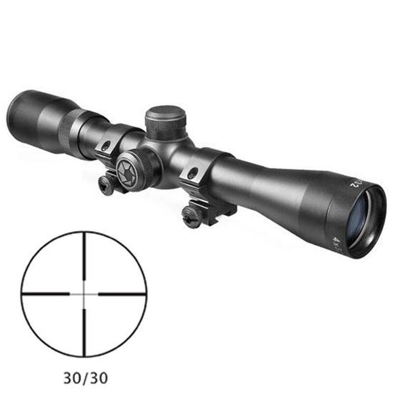 "Barska Plinker-22 Rifle Scope 1"" Tube 4x 32mm 30/30 Cross Reticle 1/4"" MOA Adjustments Matte Finish"