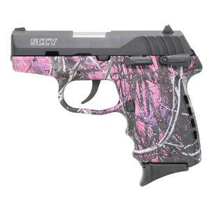 "SCCY CPX-1 Semi Auto Pistol 9mm Luger 3.1"" Barrel 10 Rounds Manual Safety 3 Dot Sights Polymer Frame Muddy Girl Camouflage Finish"