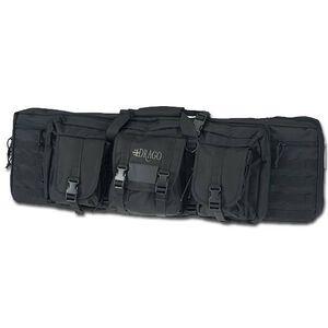 "DRAGO Gear 42"" Single Gun Case Padded Backpack Straps 600D Polyester Black 12-303BL"