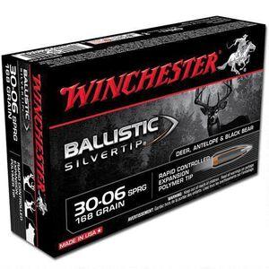 Winchester Silvertip .30-06 Springfield Ammunition 20 Rounds BST 168 Grains SBST3006A