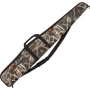 "Bulldog Cases Shotgun Soft Case 52"" Nylon Mossy Oak Camo with Brown Trim BD284"
