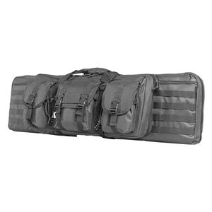 """NcStar Double Rifle Soft Case 36"""" PVC Material Urban Gray"""