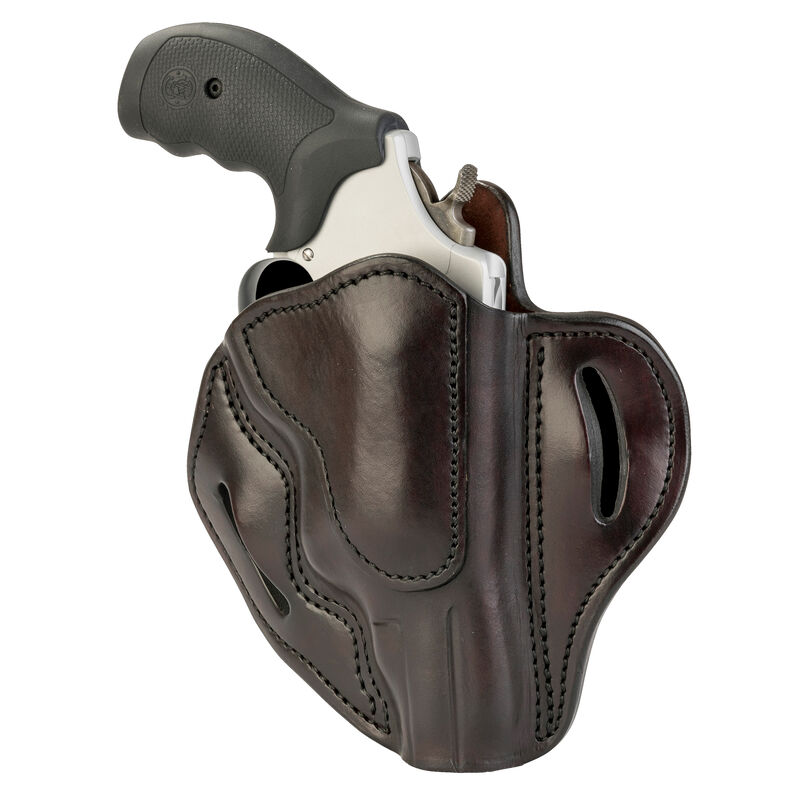 1791 Gunleather RVH-3 OWB Belt Holster for Z Frame Revolvers Right Hand Draw Leather Signature Brown
