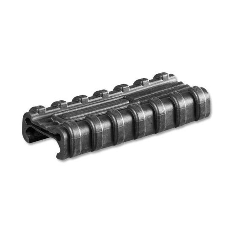 """Manta Micro Pocket Switch Holder with Button 2.75"""" Picatinny Rail Cover Wire Management Synthetic Black M1030"""