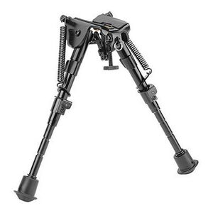 "Caldwell XLA Fixed Adjustable Bipod 6-9"" Swivel Stud Mount Black 379852"