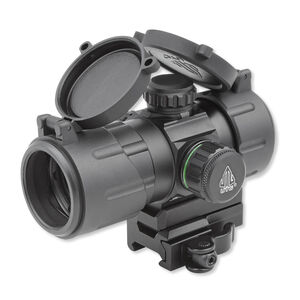 """Leapers UTG ITA Red/Green 4.2"""" T-Dot Reticle QD Mount Matte Black SCP-DS3840TDQ"""