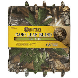"""Hunters Specialties Camo Leaf Blind Material 56""""x12' Realtree Max-5 07592"""