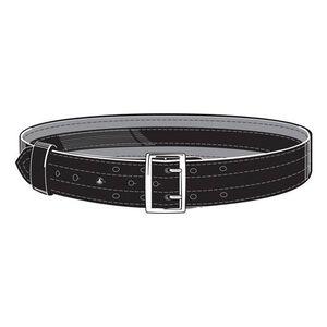 """Safariland Model 87V Suede Lined 2.25"""" Duty Belt With Velcro System 42"""" Waist Brass Buckle Basket Weave Black 87V-42-8B"""