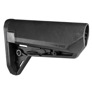 Magpul MOE SL-S AR-15 Carbine Stock Mil-Spec Diameter Compact Storage Compatible Ambidextrous Release Latch Polymer Matte Black