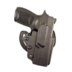 DeSantis Facilitator SIG Sauer P250 Compact/P320 Compact OWB Belt Holster Right Hand Draw Kydex Matte Black