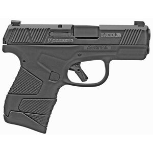 """Mossberg MC1sc 9mm Luger Subcompact Semi Auto Pistol 3.4"""" Barrel 7 Rounds Night Sights No Manual Safety Polymer Frame Black"""