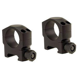 Leupold Mark 4 Tactical Scope Rings 30mm Tube Diameter Medium Height Solid Steel Rings Matte Black
