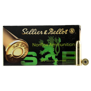 Sellier & Bellot NonTox .38 Special Ammunition 50 Rounds TFMJ 158 Grains SB38NT