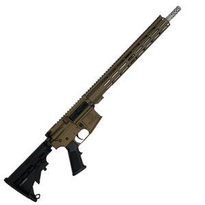 "GLFA .223 Wylde Rifle .223 Wylde Semi-Auto Rifle 16"" Stainless Steel Barrel 30 Rounds Flat Top Optics Ready Synthetic Black Stock Burnt Bronze Finish"