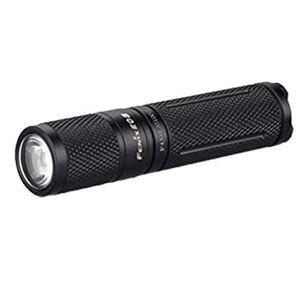 Fenix Flashlights Fenix E Series Flashlight LED 85 Lumen Aluminum Body Black AAA Battery E05E2-BLK