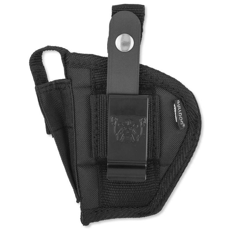 Bulldog Case Fusion Belt Holster Compact Autos Ambidextrous Nylon Black FSN30