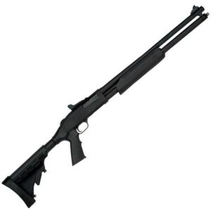 "Mossberg 500 Tactical Special Purpose Pump Action Shotgun 20 Gauge 20"" Barrel 3"" Chamber 7 Rounds Synthetic Adjustable Stock Matte Blue Finish 54301"